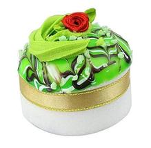 Set of 2 Artificial Cake Lifelike Cake Model Photography Props, Green - $13.46