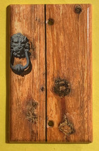Rustic Barn Wood Door image Light Switch Outlet Wall Cover Plate Home Decor image 2