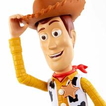 "Disney Pixar Toy Story 4 True Talkers Talking Woody Figure 9.2"" BRAND NEW image 4"