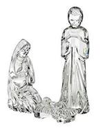 Waterford Cristal Sagrada Familia Natividad José,María y Jesús Bebé Nuev... - $198.10