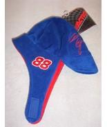 "Boys toddler ""NASCAR CHASE DALE JARRET #88"" crushed velour chin strap ca... - $5.93"