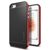 SPIGEN NEO HYBRID SERIES FOR iPHONE 5/5S/SE DANTE RED - $11.99