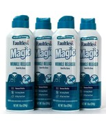4 Cans Faultless 10 Oz Magic Wrinkle Releaser No Iron Needed Quick Dry S... - $37.99