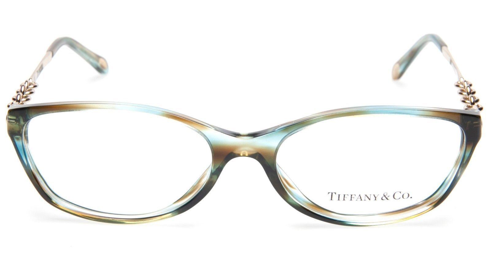 88682cd3887 NEW TIFFANY   Co. TF 2063 8124 OCEAN TURQUOISE EYEGLASSES 52-16-135