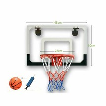Wall Hanging Transparent Basketball Board Kids Adults Easy To Hang Small... - $99.50