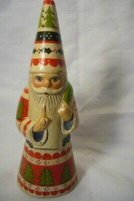 Vaillancourt Folk Art, Wizardly Candy Santa, Signed by Judi Vaillancourt