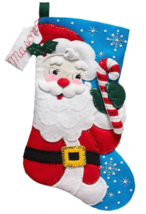 Bucilla, 'Hello Santa' Felt Christmas Stocking Stitchery Kit,  86861 - $27.99