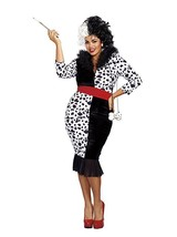 Dreamgirl Dalmation Diva Black White Dog Adult Womens Halloween Costume ... - $65.75+