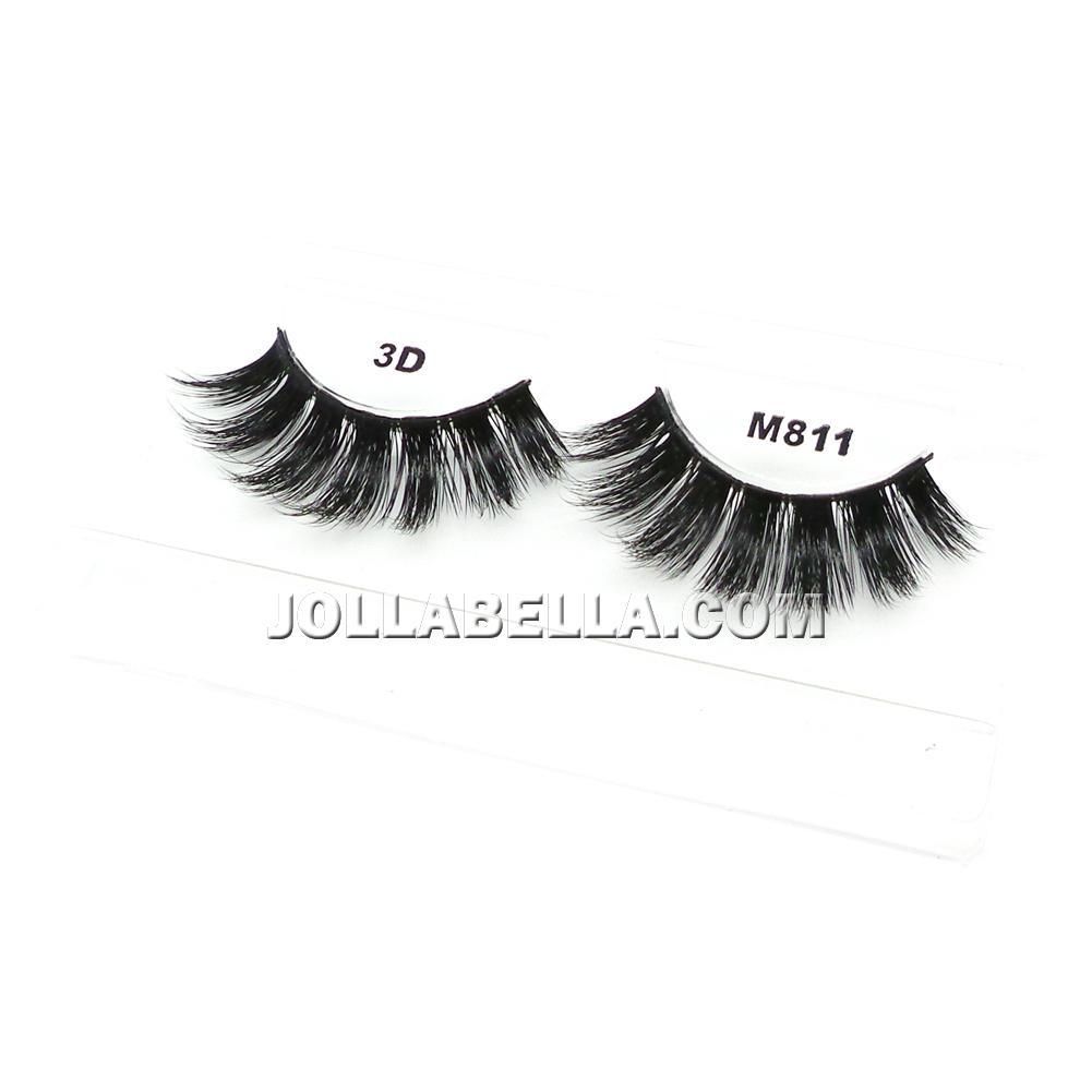 8c007cb4423 Miss Lashes 3D Eyelashes False Silk Lash Volume Long Natural Eye Makeup  Curl 1PC