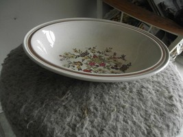 Royal Doulton Gaiety oval serving bowl 2 available - $10.25