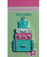 Luggage / Baggage Needleminder cross stitch needle accessory - $7.00
