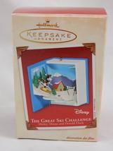 Hallmark Keepsake Ornament 2002 Disney Mickey Mouse The Great Ski Challenge - $8.54