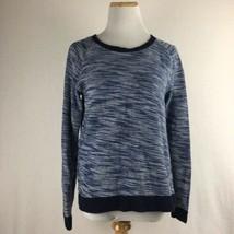 Gap Women's Scoopneck Navy Blue Longsleeve Sweater Shirt Top Blouse Size Small  - $17.81