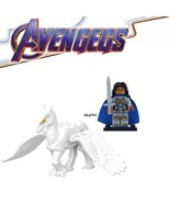 Dgame marvel iron man infinity gauntlet valkyria battle horse building blocks children thumbtall