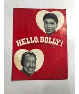 "Pearl Bailey ""HELLO DOLLY"" Cab Calloway Jerry Herman 1968 Souvenir Progr... - $32.71"