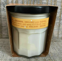 Mrs. Meyer's Limited Edition Candle with Sleeve Orange Clove 4.9 oz image 4