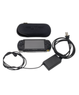 Sony PSP 1001 (crack in screen) with Sleeve and Charger - $70.13