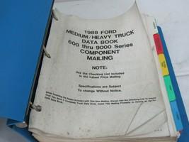 1988 Ford Medium Heavy Data Book 600-900 In Binder - $19.55