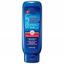 Avon Sun+ Sport Refresh Sunscreen Lotion SPF 30 - $17.99