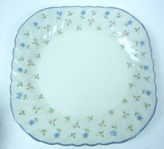 """Johnson Brothers MELODY Square Salad Plate 7 1/2"""" square - $5.45"""