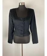 Westminster Designs Womens Jacket M Medium Black Made in USA  - $98.99