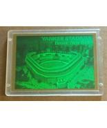 1994 YANKEE STADIUM 3D LASER HOLOGRAPHIC CARD BLOCKBUSTER VIDEO - $6.93