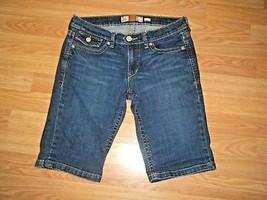 Old Navy Stretch Denim Long J EAN Shorts 6 - $16.44