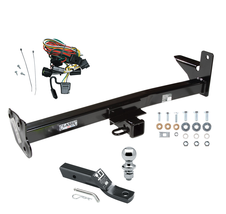 Trailer Hitch For 98-01 Passport Rodeo w/Door Spare Package w/Wiring 1-7... - $237.47