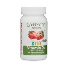 Go Healthy Natural Kids Vitamin D3 Gummies - Vegetarian, Halal and OU Ko... - $14.01