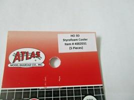 Atlas # 4002031 Styrofoam Cooler 5 Pieces  3D Printed Accessories HO Scale image 2