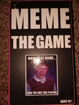 MEME the game tabletop family fun party Card Game night - $4.95