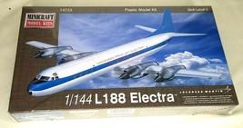 Minicraft Model Kit #14723 - 1/144 L-188 Electra by Lockheed Martin- NEW Sealed - $37.50