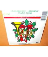 Presto / Kindvell  Christmas Classic Window Clings 3 Pieces UPC:08551206011 - $5.94