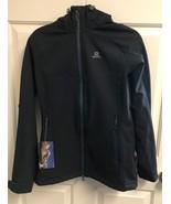 Salomon Women's Snow Flirt Jacket (M) Black   $220 New with Tags  S-50 - $128.65