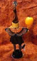 Vintage inspired Spun Cotton Dark Butterfly Girl image 2