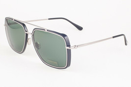 Tom Ford LIONEL 750 01N Shiny Black / Green Sunglasses TF750-01N 60mm - $204.82