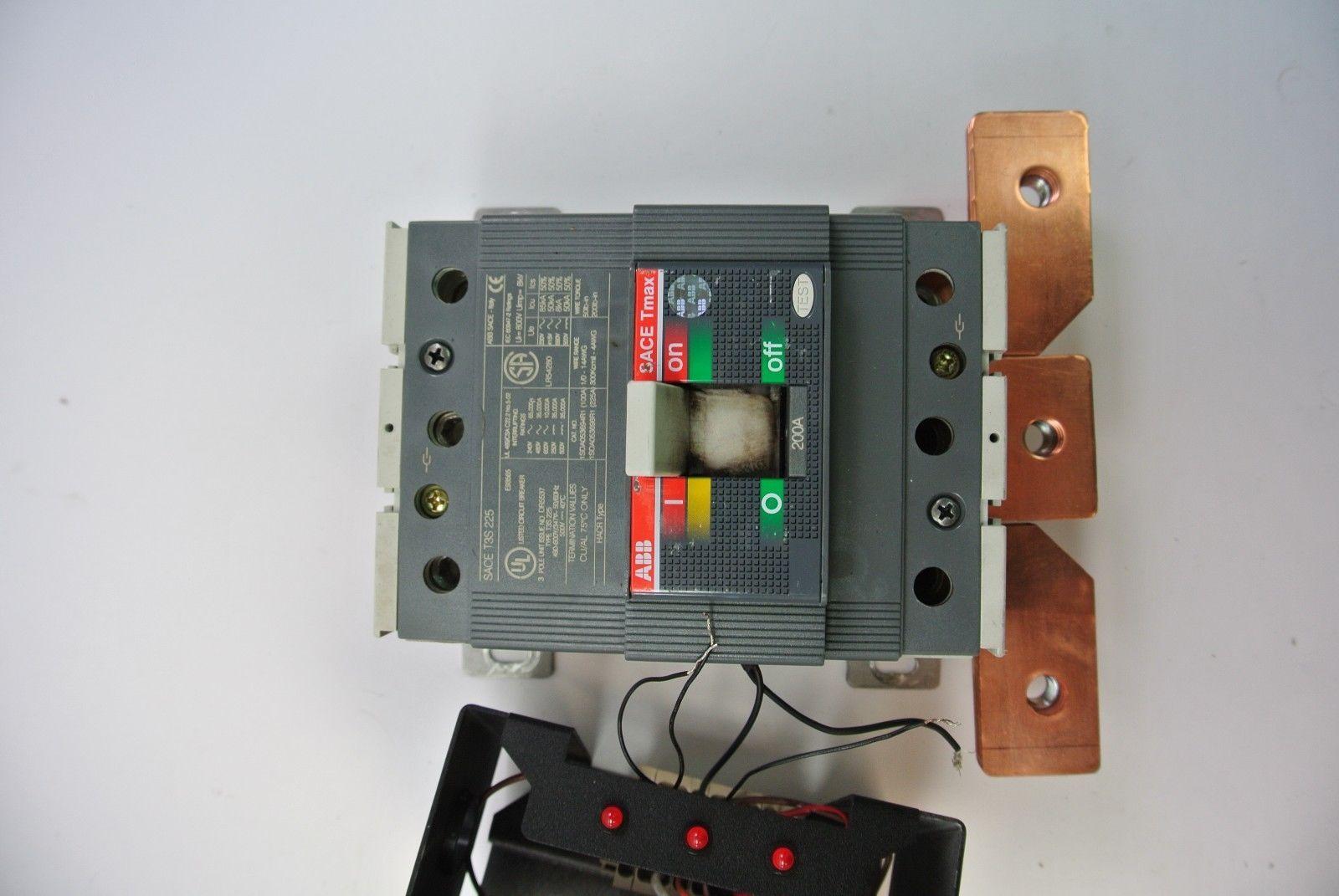 NEW ABB T3S-D 225A 3PH CIRCUIT BREAKER