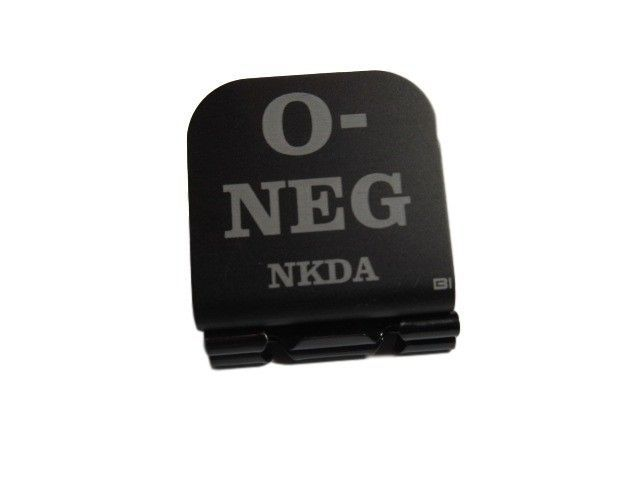 Primary image for O- NEG NKDA Laser Etched Aluminum Hat Clip Brim-it