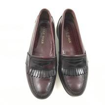 Vintage Cole HAAN Kilti Mocassins Size 8.5 D Cuir Talon Fabriqué aux Éta... - $38.10