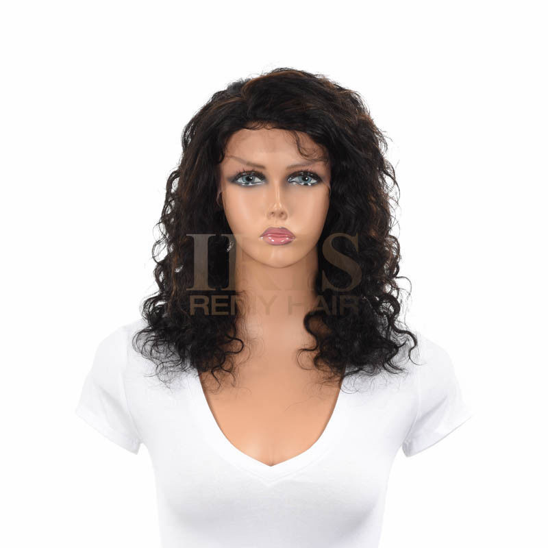 """JK TRADING IRIS FULL LACE 100% REMY HUMAN HAIR WIG """"GRACE 16 INCH"""""""