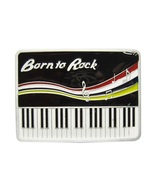 New Vintage Rock Piano Music Belt Buckle Gurtelschnalle Boucle de ceintu... - $7.55