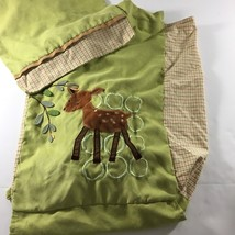 Lambs and Ivy Enchanted Forest Storage Clothes Hamper Cover Nursery Deer - $14.85