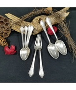 8 Pieces Assorted Flatware Gorham Silverplate Shelburne Pattern 1914  - $45.00