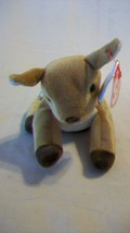 Whisper the Deer Ty Beanie Baby DOB April 5, 1997 2 errors Tush Tag Date - $6.92
