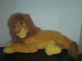 "VTG 24"" Large Mattel and Walt Disney The Lion King Adult Simba Jumbo Cat Plush - $80.00"