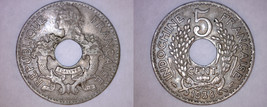 1938(a) French Indochina 5 Cent World Coin - Vietnam - $19.99