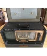 ZENITH WAVE MAGNET Vintage Mid Century Electric Broadcaster Weather station - $210.03