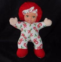 Mattel Arco Lovable Babies Christmas Candy Cane Baby Doll Stuffed Animal Plush - $36.47