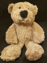 "Animal Adventure First Bear Plush Stuffed Animal Brown 9"" Embroidered Eyes Bean - $9.99"