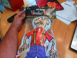 Old geezer Voodoo pin cushion Doll GAG GIFT Goofy gadgets NEW in Bag - $6.90